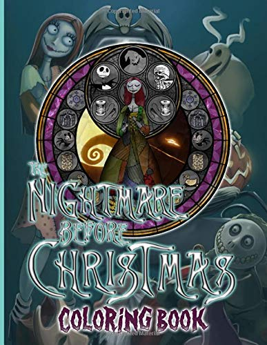 Nightmare Before Christmas Coloring Book: Special Adults Coloring Books! Relaxation