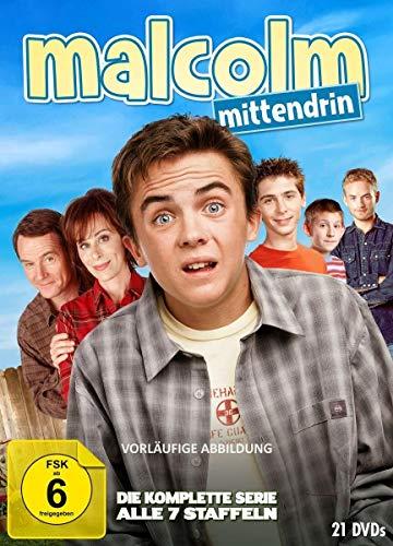 Malcolm mittendrin - Die komplette Serie (Staffel 1-7) (21 DVDs)