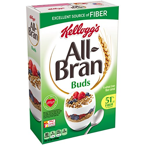All-Bran Bran Buds, 17.7-Ounce Boxes (Pack of 4) by All-Bran