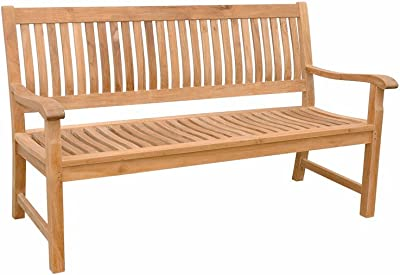 Anderson Teak BH-548 - No Cushion Del-Amo 2-Seater Bench
