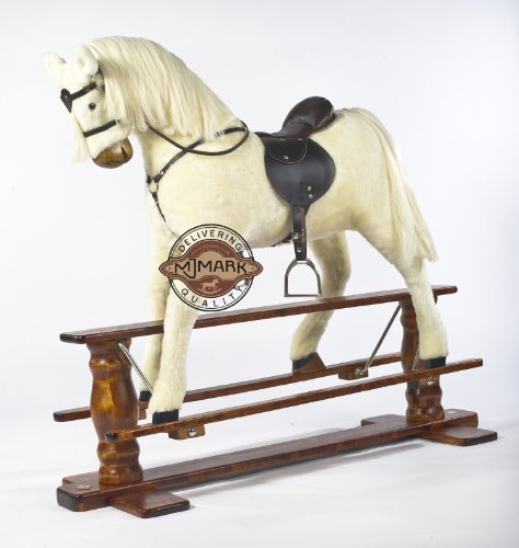 MJmark ALBINO VERY LARGE New Rocking Horse SUN II from