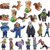 ZSWQ Mini Figure Accessori Decorativi Set Mini Scooby Figure, Mini Figure per La Tua Casa Accessori Collezione, Decorazioni Feste per Bambini, 4-8cm(Casuale)