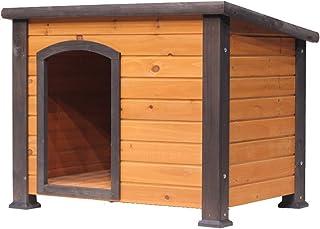 Dog Houses Outdoor Dog House Wooden Dog House Outdoor Solid Wooden Dog House Waterproof Cage Kennel Large Dog House Kennel...