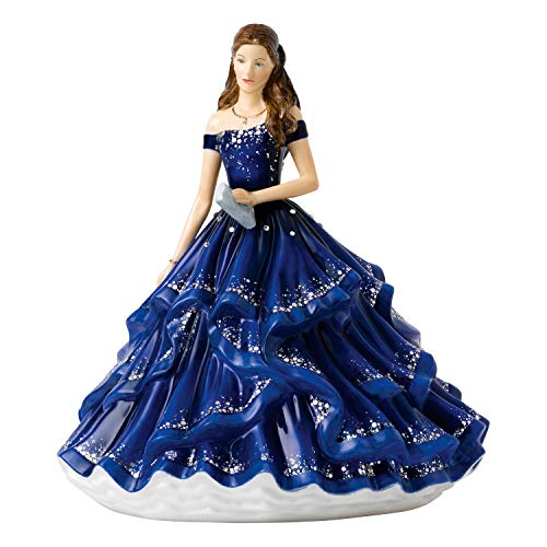 Royal Doulton Grand Soiree, fine Bone China, Blu Notte, 22.5 cm