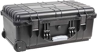 Duratool Waterproof Case, with Wheels, 22'' Water Resistant Case, 560x355x230mm