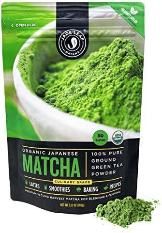25% off on organic Japanese matcha green tea from Jade Leaf