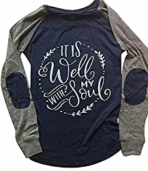 it is well with my soul shirt, cute christian shirts