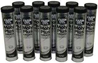 All States Ag Parts Farm OYL Moly Plus Grease 14 oz. Tube 10-Pack