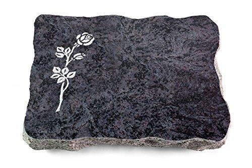 grabplatte urnengrab 80x80