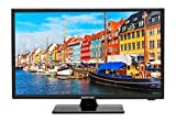 Sceptre E195BV-SR 19' Slim LED HDTV 720p with HDMI USB VGA Inputs, Machine Black 2020 New