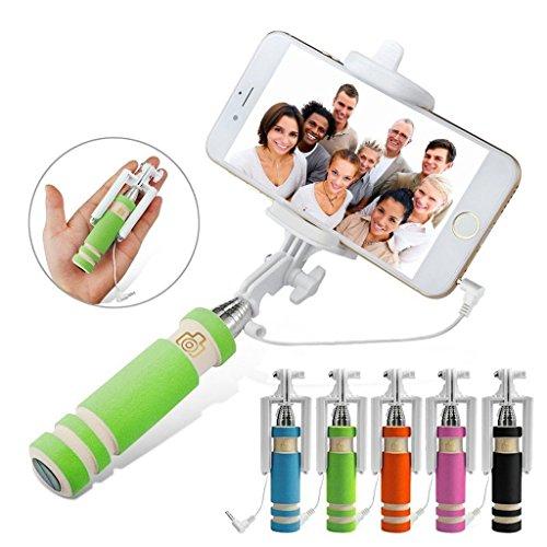 I-Sonite - Memoria para cámara de selfie, universal, ajustable, tamaño de bolsillo, monopod integrado, obturador remoto para Lenovo Yoga Book