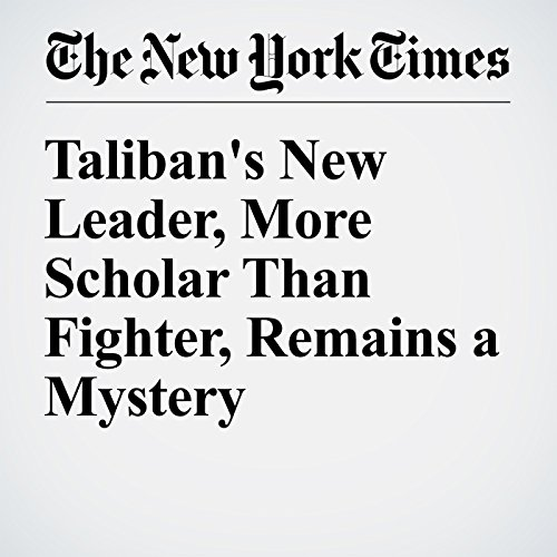 Taliban's New Leader, More Scholar Than Fighter, Remains a Mystery cover art