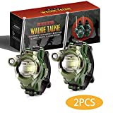 Kids Walkie Talkies Watches Outdoor Toys Two-Way Radios Walky Talky for Children, Cool Camouflage Toy