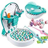 Toddler Games Toys - Fishing Balance Games Toy with Music, Story, Vehicle & Animal Sounds...