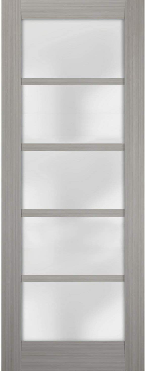 Slab Barn Cheap mail order shopping Door Panel Atlanta Mall Frosted Glass Quadro x inches 4002 30 80