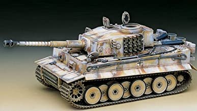 Academy Hobby Model Kits Scale Model : Armor Tanks & Artillery Kits (1/35 Tiger-1 Exterior Ver)