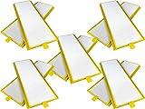 Sparhai24 10 filtros de repuesto G4 para Zehnder ComfoAir 350 | Zehnder ComfoAir 500 | Zehnder ComfoAir 550 Filtros 10 filtros utilizables para salida de aire o entrada de aire.