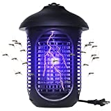 VANELC Bug Zapper Outdoor, 4000V/20W Electronic Mosquito Zapper, High Powered Pest Trap Waterproof for Fly Gnat Moth, Insect Killer Catcher for Home Kitchen Patio Garden Camping