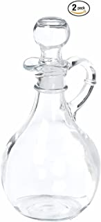 Anchor Hocking 980R Presence Cruet With Stopper, Set of 2