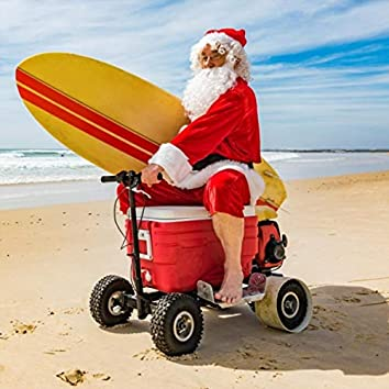 Beach Bum Santa
