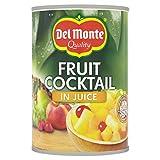 Del Monte cóctel de frutas en Zumo, 12unidades (12x 250g)