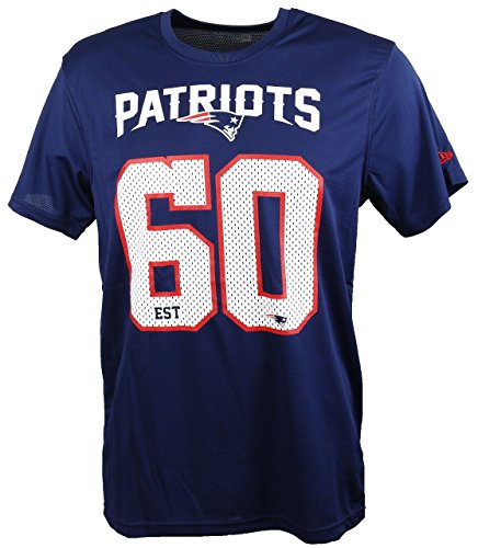 New Era New England Patriots T Shirt/Tee NFL Supporters Navy - L