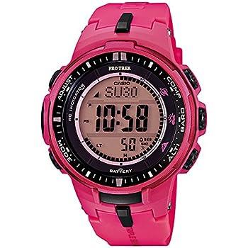 [カシオ]CASIO 腕時計 PROTREK プロトレック PRW-3000-4B ピンク レディース [逆輸入モデル]
