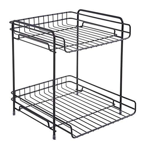 Wandmontage plank, Iron Double Shelf, Voor Badkamers Keuken Huishoudelijke Items Hiërarchische Opslag Rack Vliegtuigen Afwerking Desktop