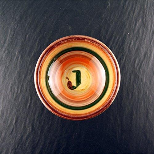 Jordan Olivenöl handgemachtes cuencos pequeño y multicolor