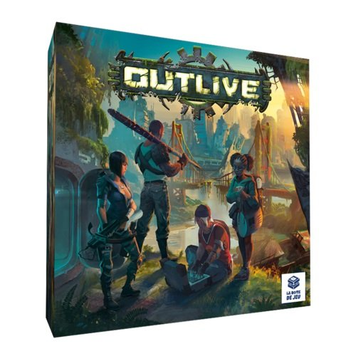 Brotherwise Games BREOUT01 Outlive, Mehrfarbig