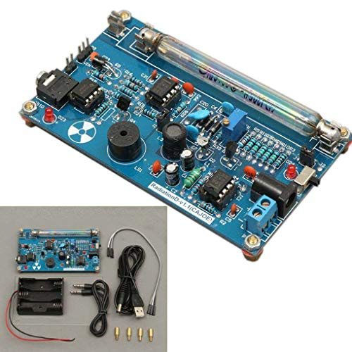 Yongse Montiertes DIY Geiger Zählerkit Modul Miller Tube GM Tube Nuclear Radiation Detector