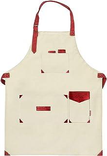 aqua white black utility apron gardener gift retirement gift gardening apron gardener apron garden apron vendor apron teacher gift