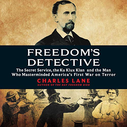 Freedom's Detective audiobook cover art