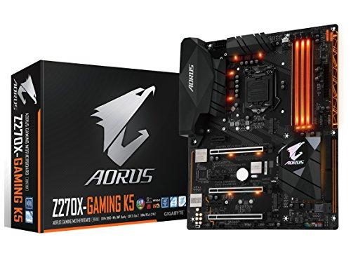 GIGABYTE AORUS GA-Z270X-Gaming 9 Gaming Motherboard LGA1151 Intel Z270 4-Way SLI ATX DDR4...
