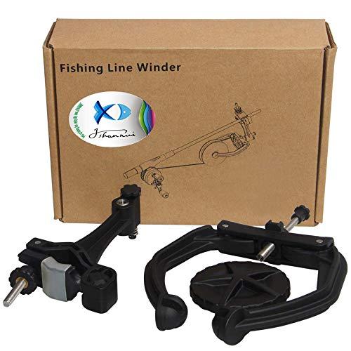 JSHANMEI Fishing Line Trolling Winder Spooler System Portable Fishing Line Winder Reel Spooler Spooling Station Baitcast Line Spooling Machine Fishing Tool (Type A)