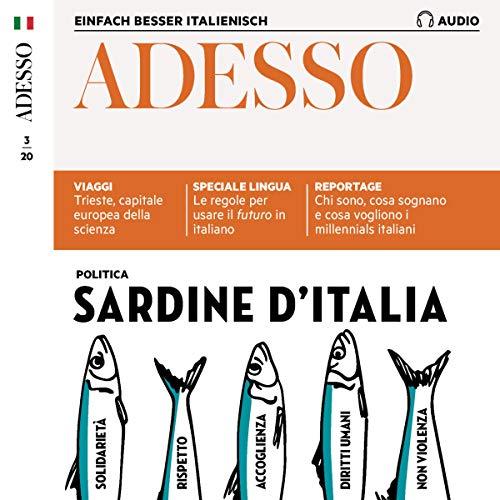 『Adesso Audio - Sardine d'Italia. 3/2020』のカバーアート