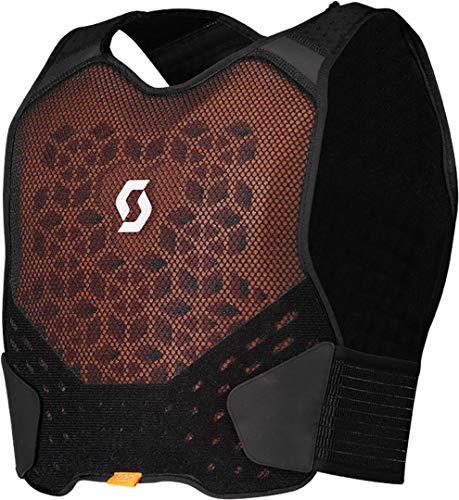 Scott Softcon Body Armor Kids Kinder MX Motocross DH Brust- / Rückenpanzer schwarz 2021: Größe: S/M (140-152)