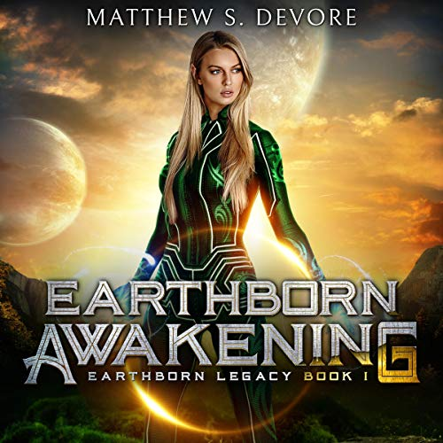 Earthborn Awakening audiobook cover art