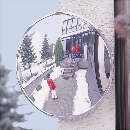 3096. Spiegel - universele spiegel spion, ronde spiegel, 90° welving, incl. bevestigingsmateriaal afmeting 70,00 cm