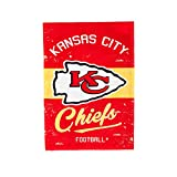 Team Sports America Kansas City Chiefs Vintage House Flag - 28 x 44 Inches