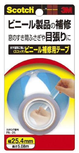 3M スコッチ ビニール補修用テープ 25.4mm×5.08m PA-25