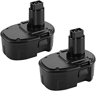 Replace for Dewalt 14.4V Battery 3.6Ah XRP DC9091 DW9091 DW9094 DE9091 DE9092 DE9038 DE9094 DE9502 14.4 Volt Ni-Mh Cordless Power Tool Battery-(2Pack)