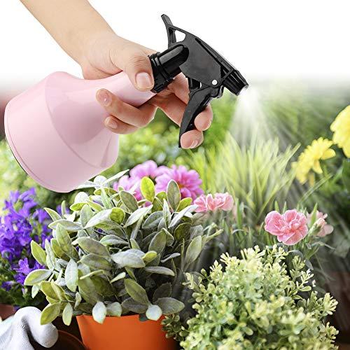 Watering Can, Wide Indoor Outdoor-Anlage Weitwarter Anwendbarkeit PP-Kunststoff 11cm für Wasser Die Pflanzen in Ihrem Garten und zu Hause (Rosa, Blau)