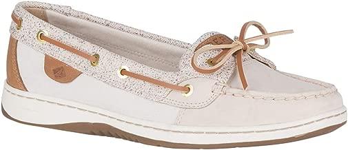 Sperry Women's Angelfish Shoe,Cordovan Embossed Anchors,9.5 Womens