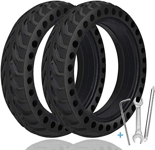 TOPOWN 2 pcs Xiaomi M365 Reifen Solid 8.5 Zoll Mit 3 Montagewerkzeug Reifen Vollgummi Für Xiaomi Mijia Elektro-Fahrrad-Skateboard Reifen Felge m365
