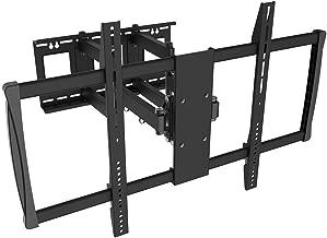 Black Full-Motion Tilt/Swivel Wall Mount Bracket for Polaroid 65GSR3100FA 65