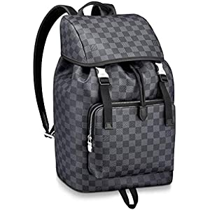 Fashion Shopping Louis Vuitton Damier Graphite Canvas Zack Backpack Handbag Article: N40005