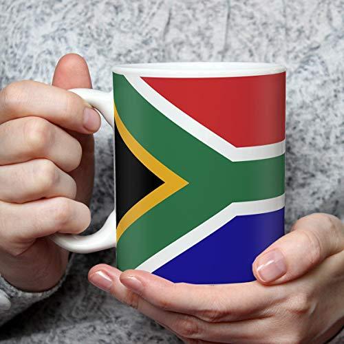 Geschenk Tasse mit Flagge Südafrika Länder Flaggen Geburtstagsgeschenk Souvenir South Africa für Reiseliebhaber Frauen Männer
