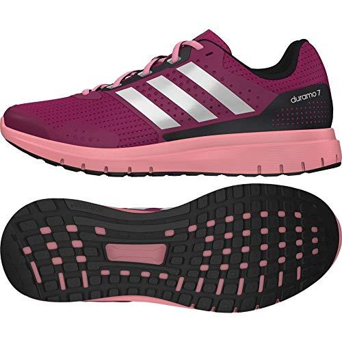 Adidas Duramo 7 W - Zapatillas de running para mujer, Rosa (Bold Pink/Ftwr White/Super Pop F15), 38