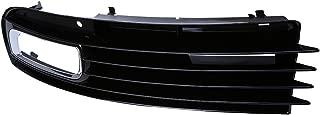 Possbay Bumper Grilles, Front Fog Light Grille Lower Grill Driver Side for Audi A8 D3 D3 2007-2010 Facelift